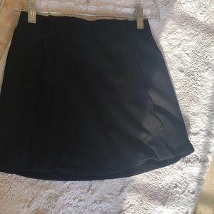 Black TOPSHOP miniskirt